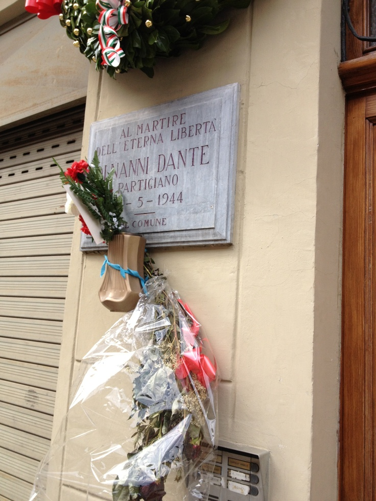 Dante di Nanni (partigiano) - Via San Bernardino, Torino