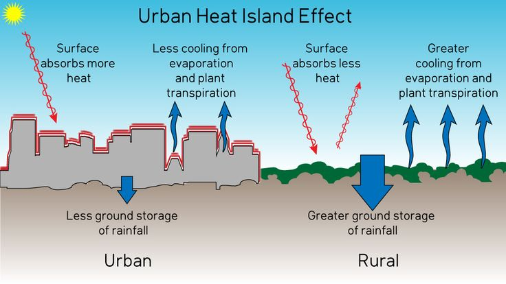 Image result for urban heat island