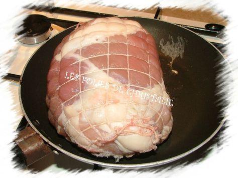Rôti de porc au Thermomix