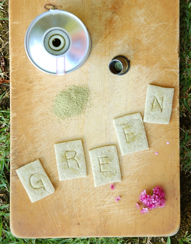 Galletas de Té Verde, ñami!