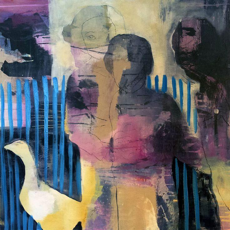 GÅS BY ANNE-BRITT KRISTIANSEN  #fineart #art #painting #kunst #maleri #bilde  https://annebrittkristiansen.com/paintings/2013/