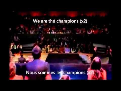 """""""Nous Sommes les Champions"""" Glee avec la traduction"""
