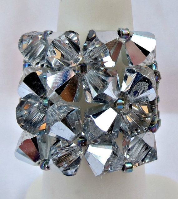 EXTRA LARGE Handcrafted Swarovski Crystal by CrystalHeartFactory