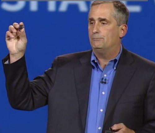 Anunció un dispositivo portátil en colaboración con Oakley y con Intel Curie, un producto del tamaño de un botón para permitir soluciones de wearables.
