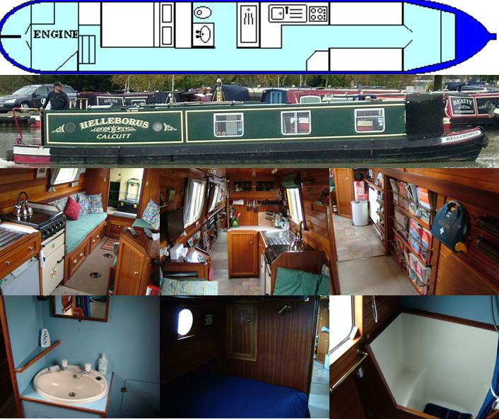 HELLEBORUS 1987 42FT SEMI-TRAD- SOLD DECEMBER 2014 www.calcuttboats.com