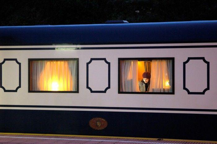 Rail travel el transcantabrico first class