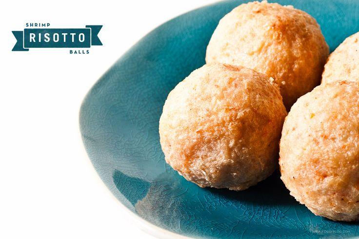 shrimp risotto balls: Food Recipes, Risotto Balll, Foodies Site, Recipes Blog, Food Blog, Food Boards, Shrimp Risotto, Food Drinks, Ball Ingredients
