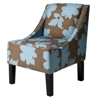Best Blue And Brown Chair Upholstered Accent Chairs Blue 400 x 300