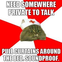 Scrubs Meme: Soundproof Nursing Humor