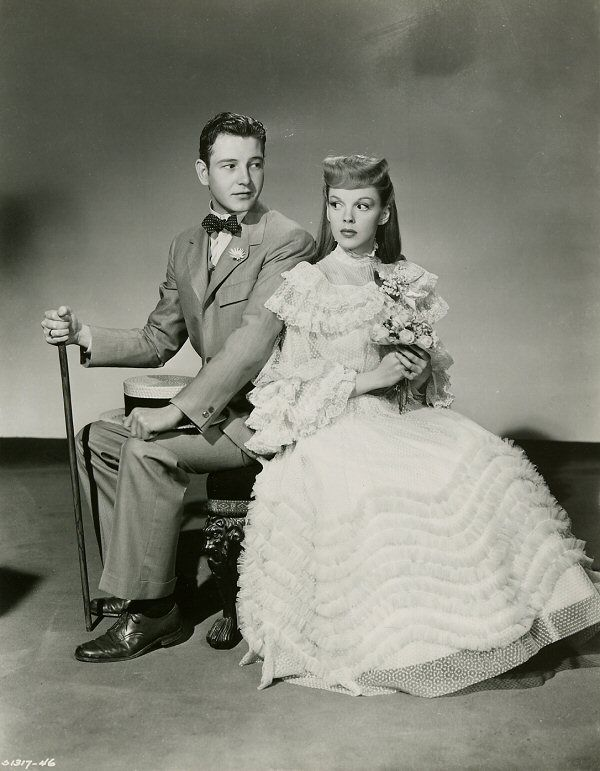 Tom Drake and Judy Garland   Meet me in St. Louis Sang the title song for weeks after watching this film.