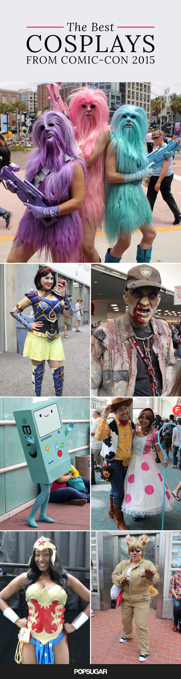 These are our favorite looks from Comic-Con 2015 in San Diego
