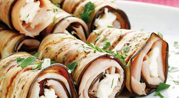 Una receta ideal para tu dieta: Rollitos de berenjena a la plancha | Adelgazar – Bajar de Peso