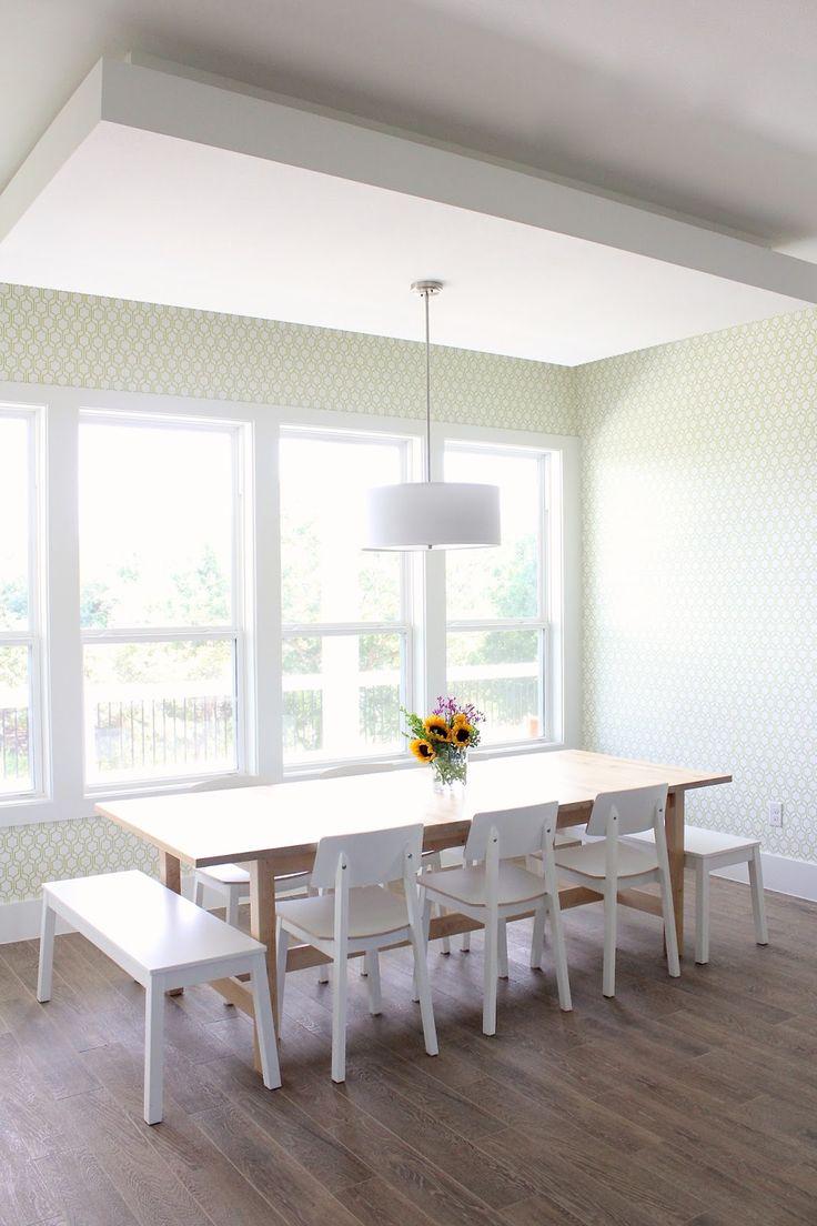 191 best dining spaces images on pinterest dining room. Black Bedroom Furniture Sets. Home Design Ideas