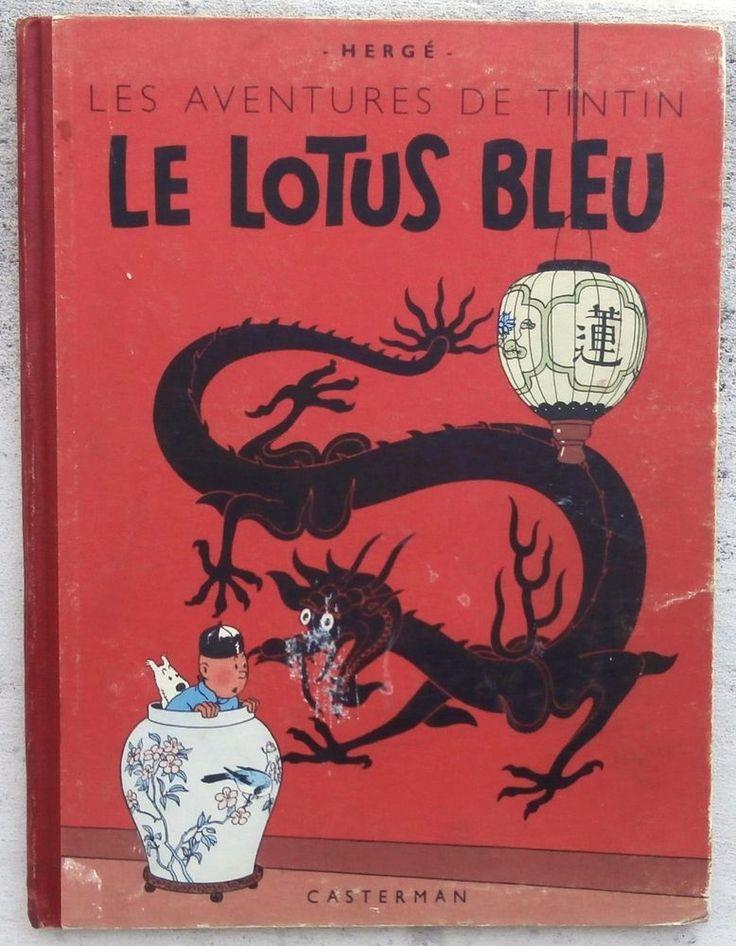 Tintin Le Lotus Bleu  1948
