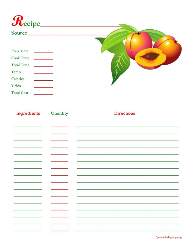 Best Recipe Cards    Images On   Recipe