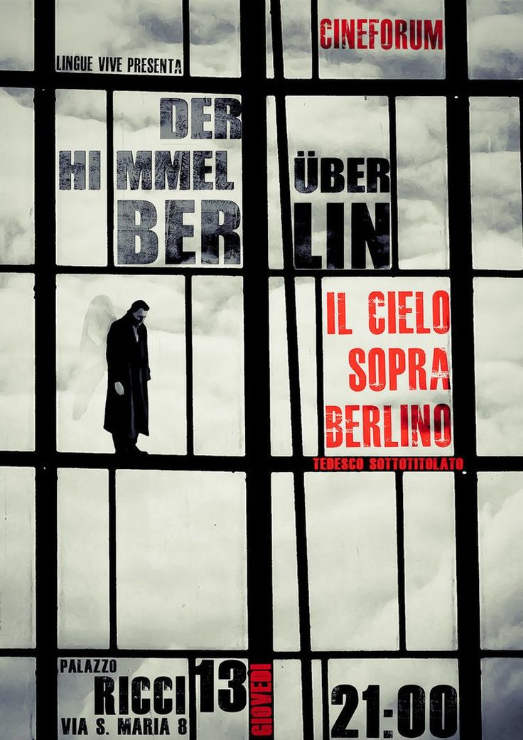 Der Himmel über Berlin(1987) – Wim Wenders