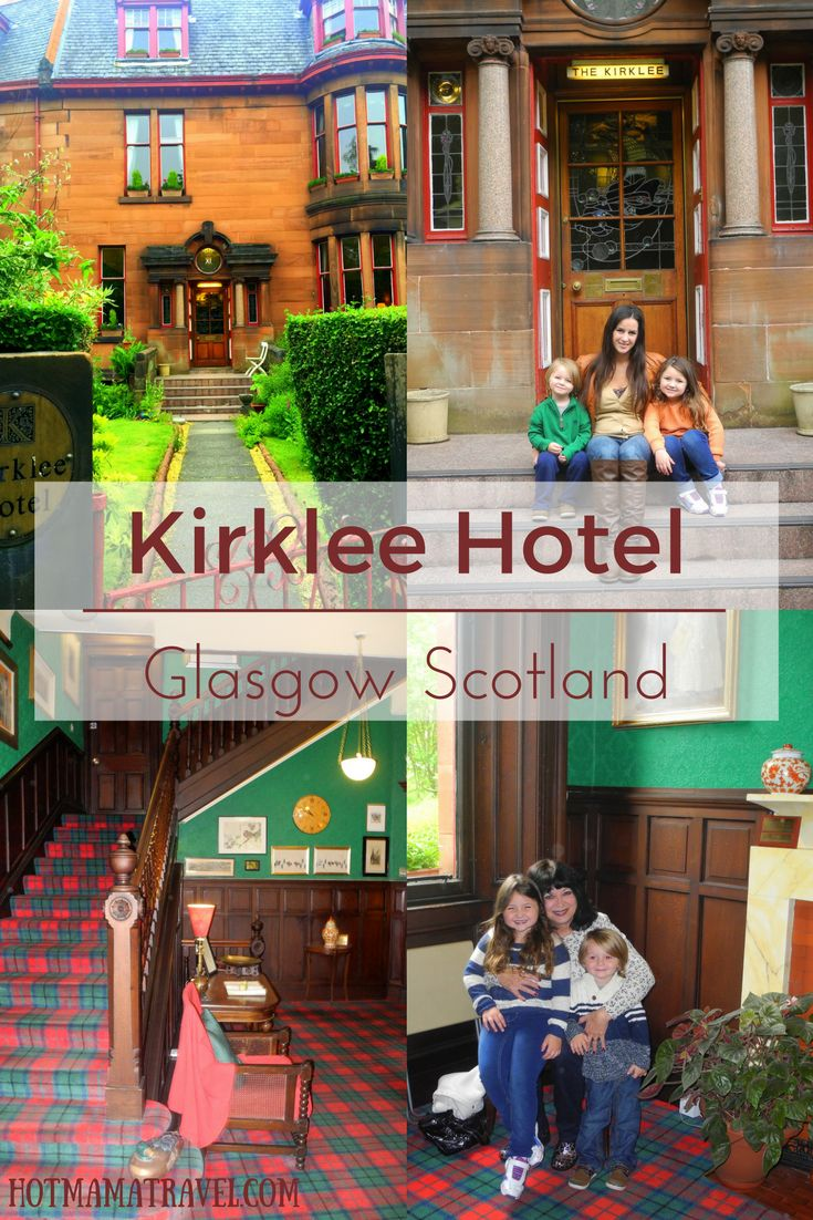Drop Your Bags At The Kirklee Hotel In Glasgow Scotland Click For Details