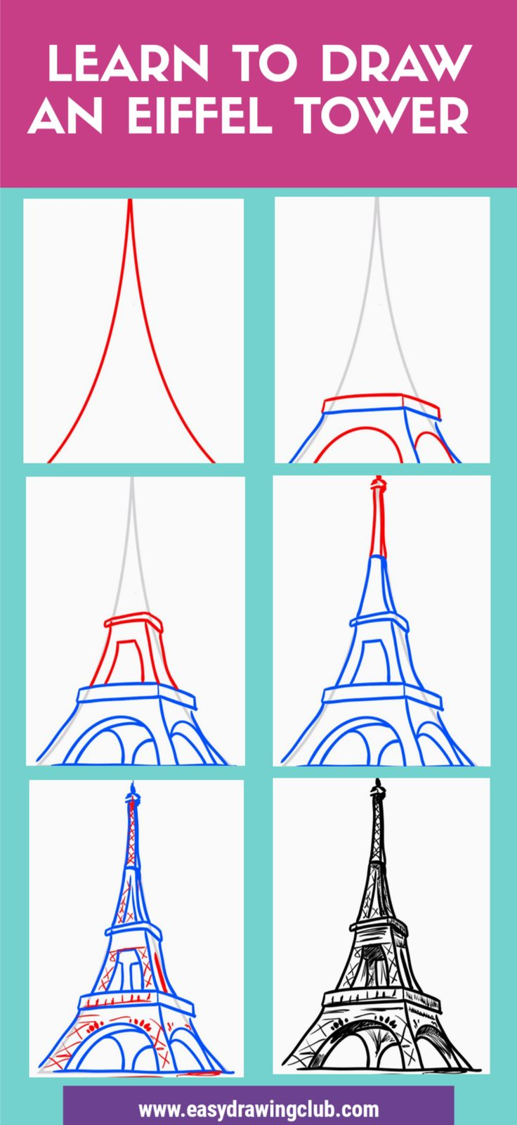 Learn How To Draw A Cool Easy Eiffel Tower Drawing Sketch In 11 Easy Steps Eiffel Tower Drawing Eiffel Tower Drawing Easy Eiffel Tower Painting