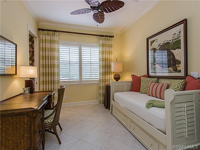 golf condo in naples home office and fold away bed for guests terre verde