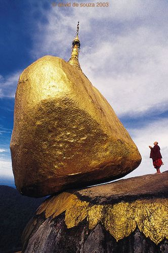 Golden Rock, Myanmar. #myanmar