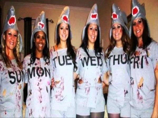 ideas for group halloween costumes at work