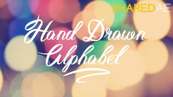 Hand Drawn Alphabet - Free After Effects Templates | VideoHive
