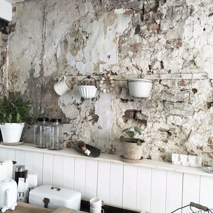 Le Style: Industriële muur