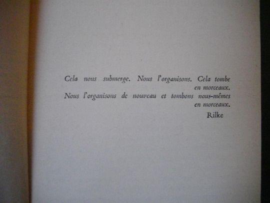 Exergue d'Histoire de Claude Simon.