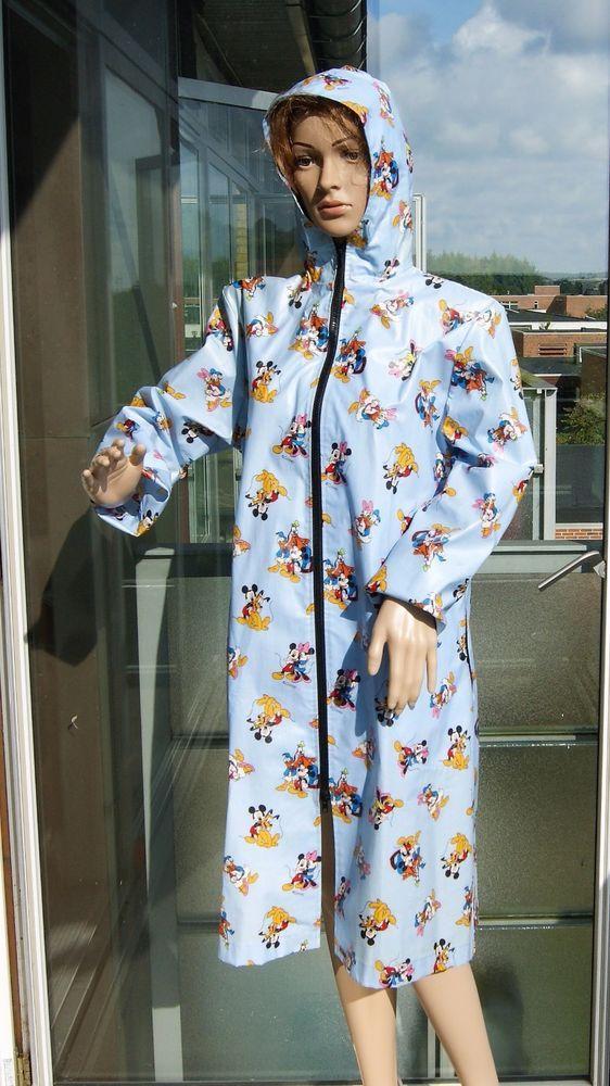 Light blue Raincoat  Vinyl Pvc. Rubber Rain Coat Catsuit Latex  Fetich Raincape #WaltDisny #Raincoat #Casual