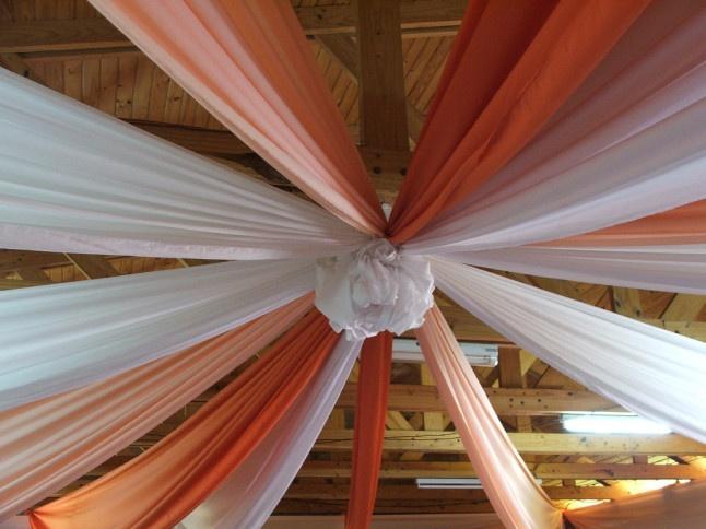 Tentures plafond