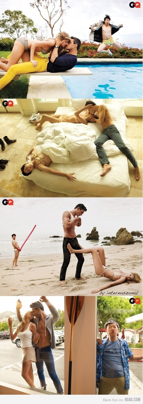 Photobombing Level: Ken Jeong aka Mr. Chow