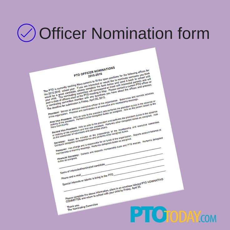 get our nomination form with descriptions of each role to distribute to parents teachers. Black Bedroom Furniture Sets. Home Design Ideas