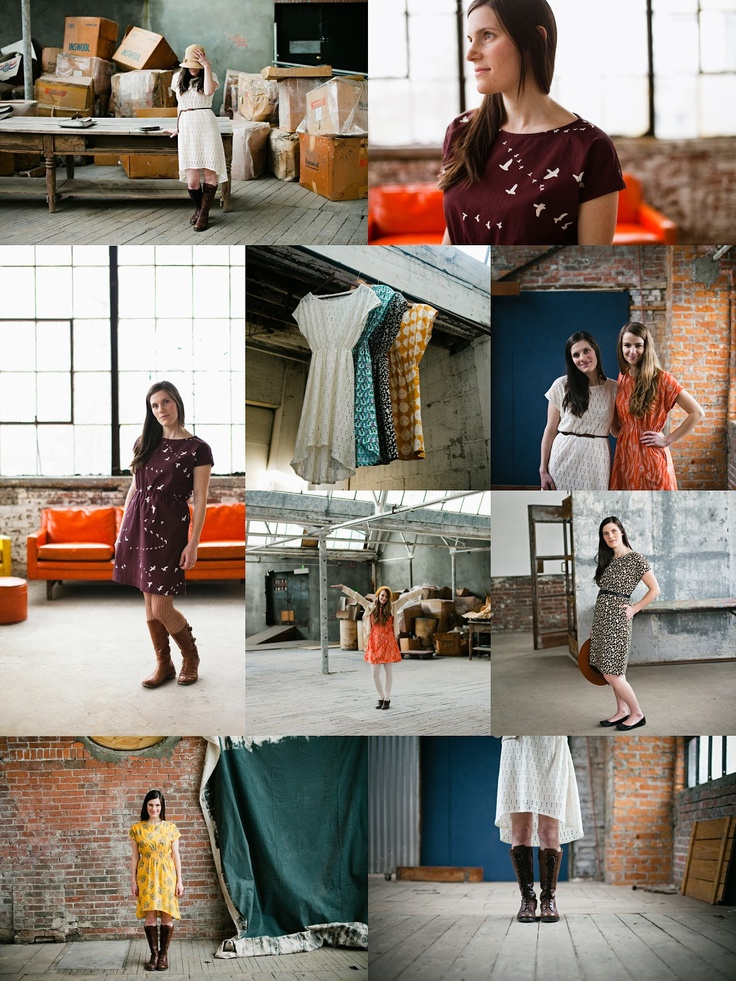 The Staple Dress by April Rhodes. Looks like a very EASY (to wear and sew) go everywhere dress, perfect for that favorite piece of fabric with a pattern you'd like to highlight.