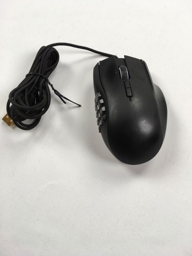Razer Naga 2014 RZ01-0104 Gaming Mouse Great Condition #Razer