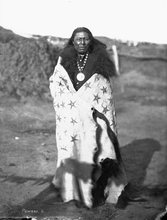 Raruhc kureesaaru 'His Chiefly Sun'  Photograph by William Henry Jackson, ca. 1868-71.  Pawnee | www.American-Tribes.com