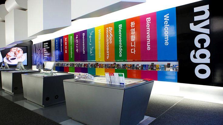 nycgo tourist information center in new york, NY, USA
