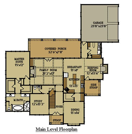 66 best images about floor plans on pinterest house for Cottage style garage plans
