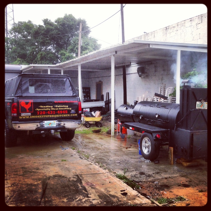 Our Lang 84 Deluxe Catering Smoker