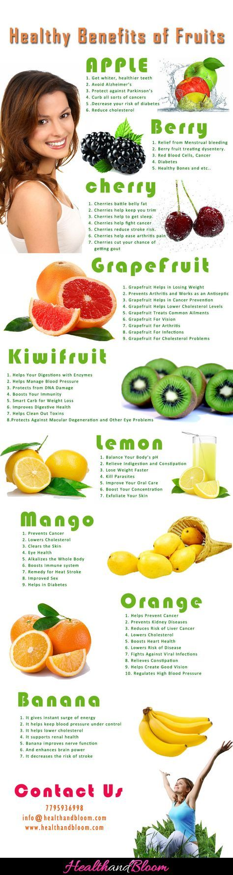healthy fruit to eat healthy fruit facts
