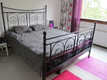 Noresund Bed Goes Modern Decorating Wants Bed Ikea Metal Bed