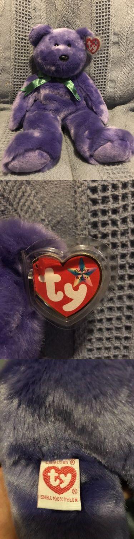 Retired 19207: Usa Employee Bear Beanie Ty Beanie Baby Original Beanie Buddy 1990S-2000S. -> BUY IT NOW ONLY: $100 on eBay!