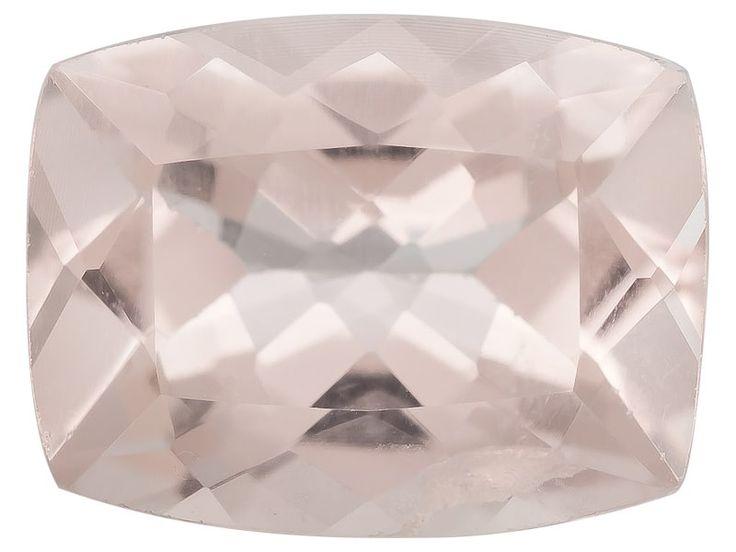 Mozambique Cor-de-rosa Morganite(Tm) Min 1.50ct 9x7mm Rectangular Cushion