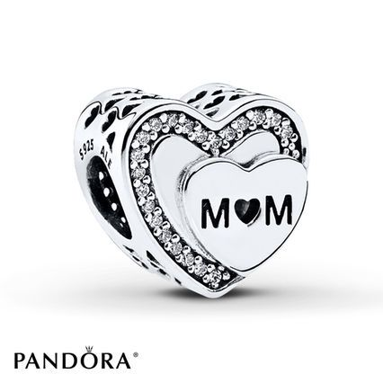 197788f9a93685 ... Jared - PANDORA Charm Tribute to Mom Sterling Silver ...