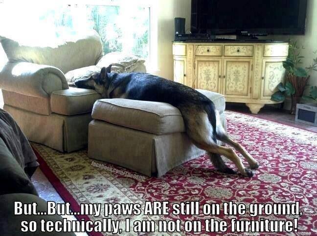 You can use furniture to stretch