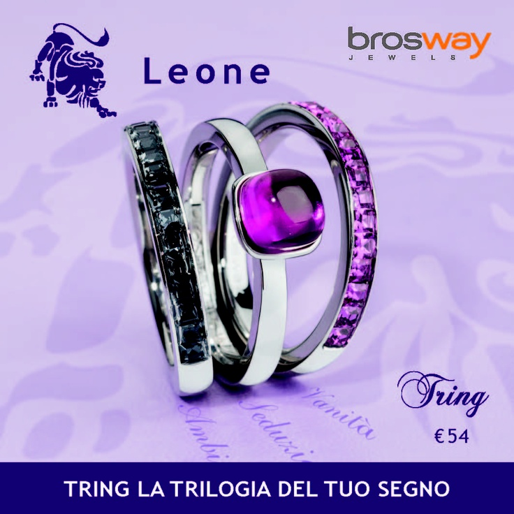 gioielli tring - brosway jewels - leone
