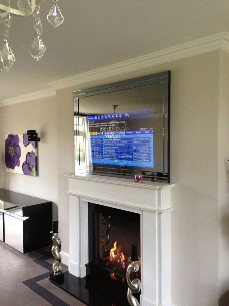 A Custom Mirror TV Commissioned And Installed By Harrowgate Home Cinema
