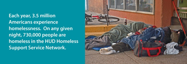 National Coalition for the Homeless - tough facts about homelessness in the U.S.