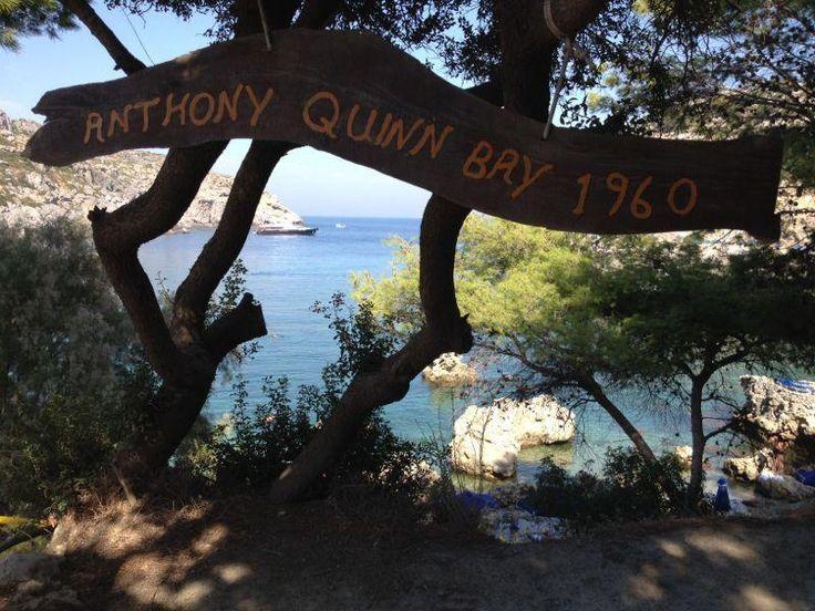 Anthony Quinn's Bay, Rhodes , Greece