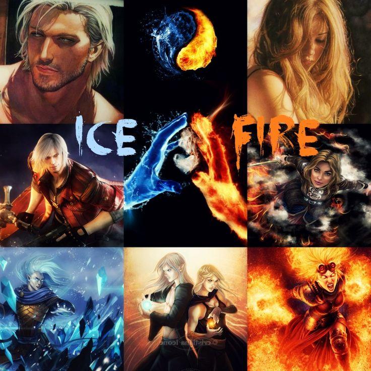 Ice & Fire ~ Rowan and Aelin <3