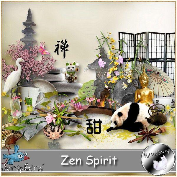 kit zen spirit by kittyscrap